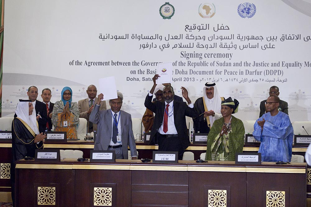 Unamid Welcomes Peace Agreement Signed Between Sudan And Jem Sudan