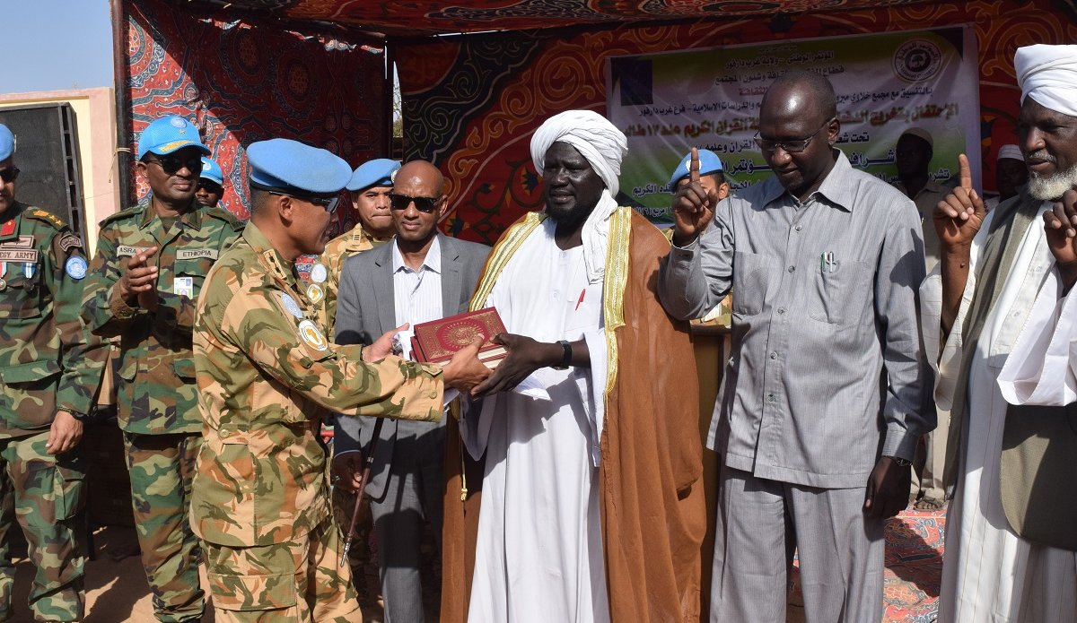 UNAMID hands over building and education materials in West Darfur  UNAMID