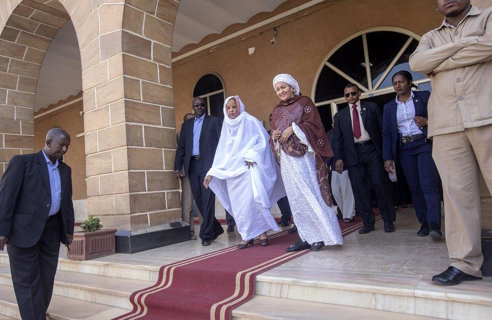 DSG met with the Chief Justice of Sudan, Ms. Nemat Abdullah in Khartoum.