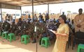 UNAMID Join IDPs community to celebrates International Day of United Nations Peacekeepers