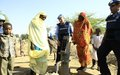 UNAMID hands over water pumps to the displaced at Ardamata camp, West Darfur
