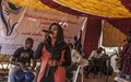 UNAMID organizes interactive installations and a photo exhibition in El Fasher, North Darfur