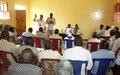 اليوناميد تدعم ورشة عمل حول الحكم الرشيد في ولاية وسط دارفور