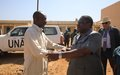 UNAMID Joint Special Representative visits Golo town in Jebel Marra, Central Darfur