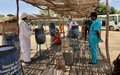 UNAMID distributes hygiene materials to IDPs in Central Darfur to help them combat the spread of COVID-19