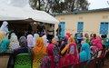اليوناميد تسلم مركز المرأة للمجتمع المحلّي في غرب جبل مرّة، وسط دارفور