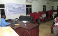 UNAMID-supported workshop aims to enhance work of National Human Rights Commission in North Darfur