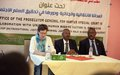 UNAMID collaborates with Office of the General Prosecutor for Darfur Crimes on transitional and criminal justice workshop