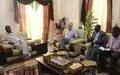 UNAMID Acting Deputy Head meets Wali of East Darfur