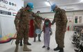 UNAMID Pakistan peacekeepers assists 7 children with disabilities to walk again in North Darfur