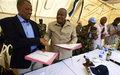 اليوناميد تُسلِّم موقع البعثة الميداني في تُلُس لحكومة السودان