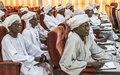 تدريب 30 من قضاة المحاكم الريفية للفصل في النزاعات والوساطة في شمال دارفور