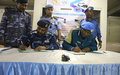 UNAMID hands over vehicles, containers and furniture to the Sudanese Police Force