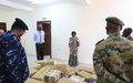UNAMID supports newly established COVID-19 Isolation Centre in Central Darfur