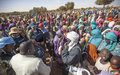 UNAMID reinforces protection for civilians displaced by hostilities in Jebel Marra,