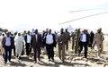 حكومة السودان تسلّم أرضاً لإنشاء قاعدة عمليات مؤقتة لليوناميد في قولو، وسط دارفور