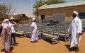 اليوناميد تسلِّم وحدات جلوس لمدارس أساس في دارفور