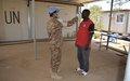 الكتيبة الباكستانية باليوناميد تنظم ورشة عمل للتوعية بفيروس كرونا- 19 في شمال دارفور