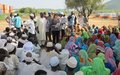 "UNAMID Conducts ""No Child Soldiers -Protect Darfur"" Campaign in Sortony, North Darfur"
