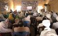 UNAMID's DIDC Secretariat Facilitates Internal Dialogue in Kabkabiya, North Darfur