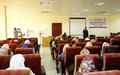 UN SLFs organize capacity building training workshop for Sudanese female police officers in North Darfur
