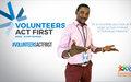 International Volunteer Day: Abu Bakarr Bangura