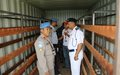 UNAMID Hands Over Weapon Storage Facilities to Sudan Police in East Darfur