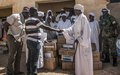 UNAMID hands over medical supplies to a rural hospital in North Darfur