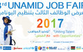 UNAMID organizes third job fair for its national staff