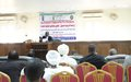 "UN State Liaison Functions organizes training on ""Fair trial standards"" for district court judges in South Darfur"