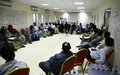 UNAMID Concludes Three-day Workshop on Promotion of Good Governance in El Geneina, West Darfur