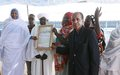 UNAMID Hands over a Community Centre in Otash IDPs Camp