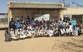"UNAMID launches ""No Child Soldiers – Protect Darfur"" campaign in Mournei camp for displaced persons, West Darfur"