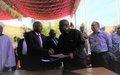 اليونامـــــــــــــــــــــــــــــــــــــيد تسلم مقر رئاسة قطاعها في جنوب دارفور إلى حكومة السودان