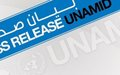 UNAMID Welcomes Framework Agreement between Transitional Government and the Darfur Track