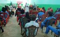 UN State Liaison Functions sensitize prison officers and inmates on COVID-19 prevention measures in South Darfur