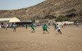 اليوناميد تنظِّم بطولة لكرة القدم من أجل السلام بمنطقة روكرو، وسط دارفور