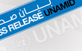 UNAMID welcomes Cessation of Hostilities announcement