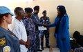 مكاتب التنسيق الولائية التابعة للأمم المتحدة توفر التدريب في مجال حقوق الإنسان للشرطة السودانية في شمال دارفور