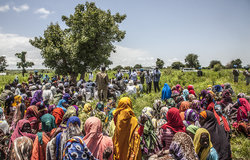 UNAMID organized a peaceful coexistence forum between farmers and herders in Taringa village, Central Darfur on 27 August 2019.